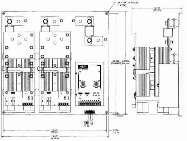 ise  inc   u0026gt  three phase  u0026gt  zf2 scr power control  three phase  two leg 650a