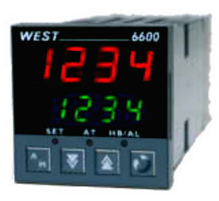 West 6600 Series PID Control with Heater Break Alarm