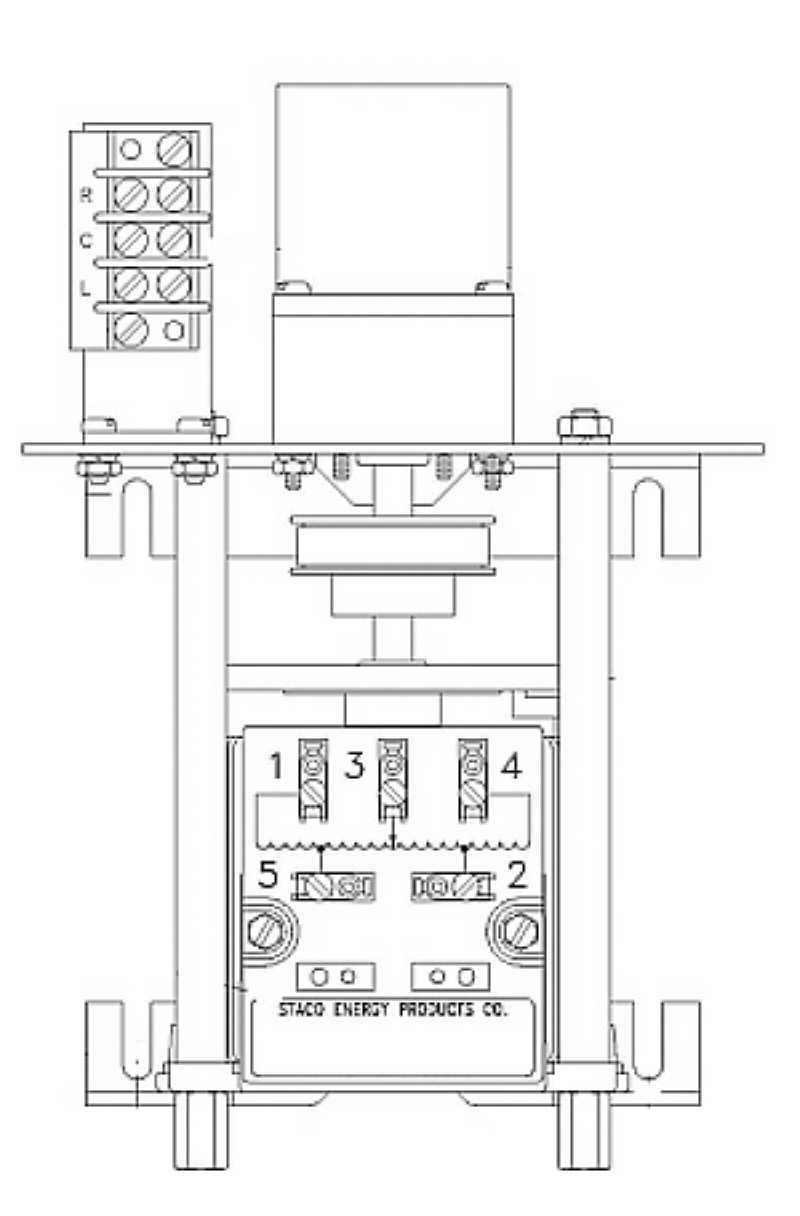 M1010B Staco Variac Variable Transformer on
