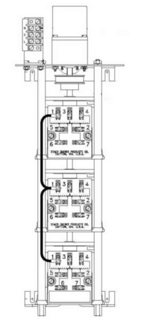 M1520-3 Staco Variac Variable Transformer on