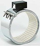 13-1/2ID X 2-1/2W Ceramic Band Heater 460V (1/2)/ 1000/2000W / Post Terminals