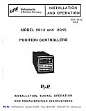 Installation and Operation Manual for LFE 2014 and 2015 Controls