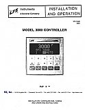 Installation and Operation Manual for LFE 3000 Controls