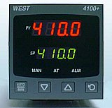 4100+ 1/4 DIN Temperature/Process Control