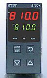 West Control Solutions 8100+ 1/8 DIN Temperature/Process Control