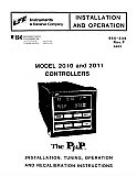 Installation and Operation Manual for LFE 2010 and 2011 Controls