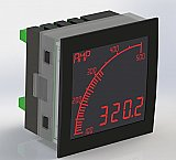 Trumeter APM-M2-ANO Digital Bar Graph Meter Lighted characters (Negative)  Display, Programmable Volts / Amps / Frequency