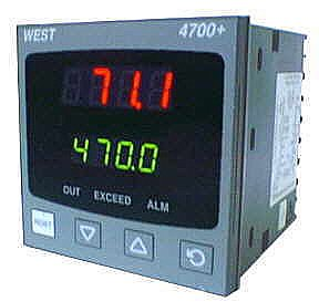 West 4700+ Instruments/Controls