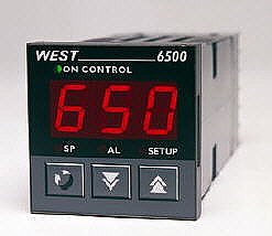 6500 1/16 DIN Low Cost Temperature Control