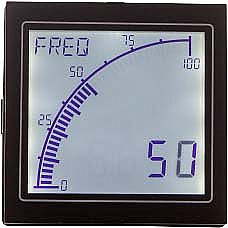Trumeter APM-PROC-APO Digital Bar Graph Meter Lighted Background (Positive) Display, Process Signal Input