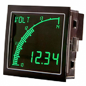 Trumeter APM-AMP-ANN Digital Bar Graph Meter Lighted characters (Negative), 0-5 Amp AC or DC Input
