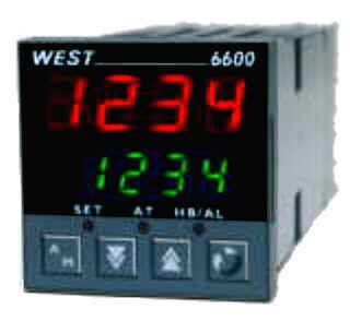 WEST 6600 Temperature Control with Current Monitoring