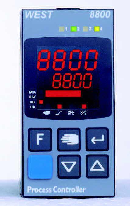 West 8800 1/8 DIN Control